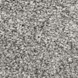 Warm Grey Supreme Action Back Saxony Carpet - Close
