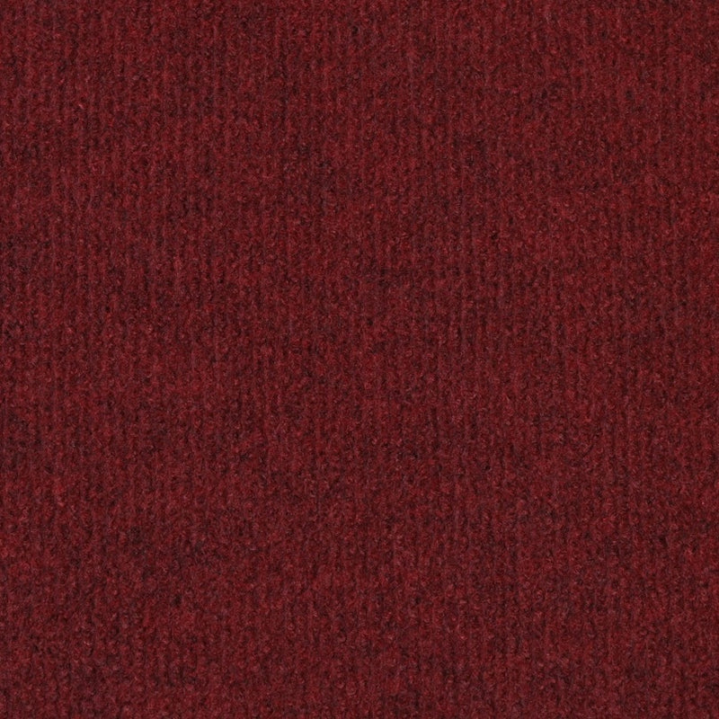 Wine Red Budget Cord Carpet - Far