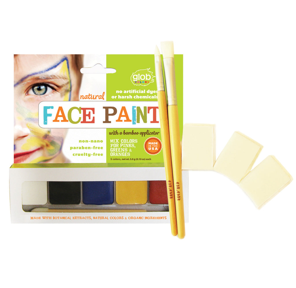 Natural Face Painting Kit (#605)