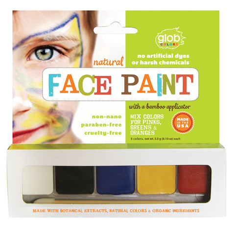 natural, non-nano face paint (#600)