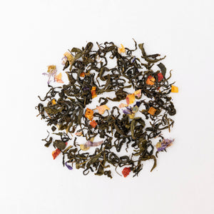 ORGANIC BLENDED GREEN TEAS