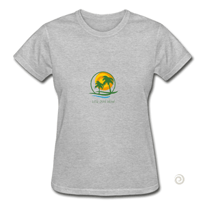 Gildan Ultra Cotton Ladies T-Shirt - heather gray