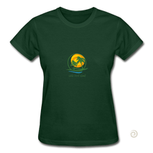 Load image into Gallery viewer, Gildan Ultra Cotton Ladies T-Shirt - forest green
