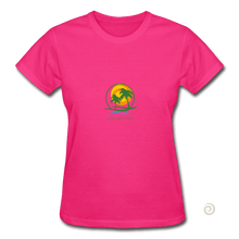 Load image into Gallery viewer, Gildan Ultra Cotton Ladies T-Shirt - fuchsia