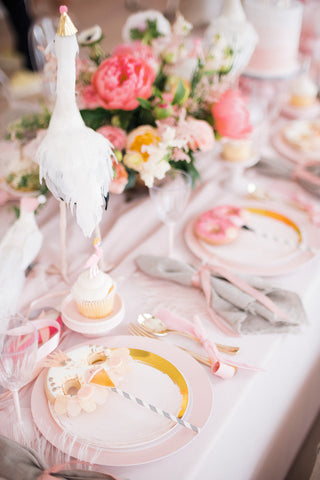 Bird Parade Party, Place Setting