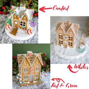 Ready to Ship Medium Gingerbread House