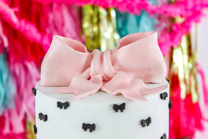 Bow Cake Topper