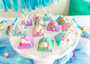 Ready to Ship Mermaid Pyramid Chocolates