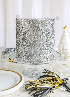 Sparkle Sprinkle Cake- Fake cake, prop cake, party decor