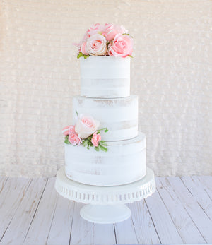 Floral & Macaron Side Topper