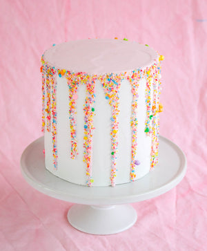 Ready to Ship Sprinkled Drip Cake