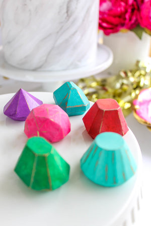 Rainbow Gem Chocolates
