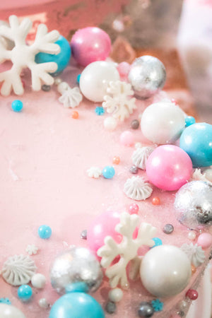 Winter Sprinkle Cake