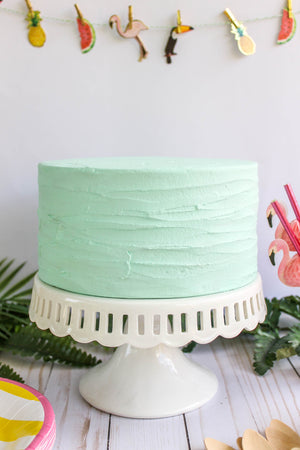 Ready to Ship Plain Texture Cake