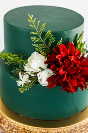 Winter Floral Topper