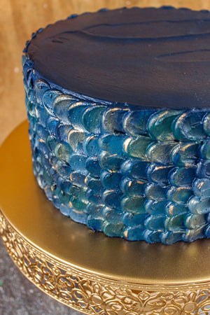Scale Texture Cake