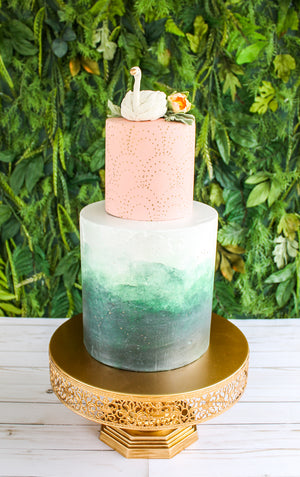 Watercolor Wash Cake