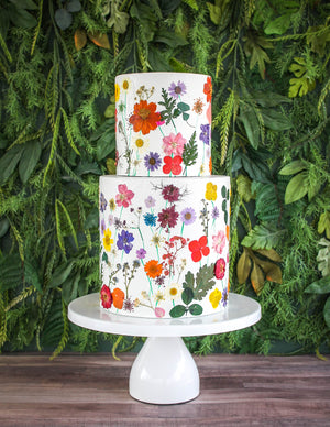Dried Floral Cake