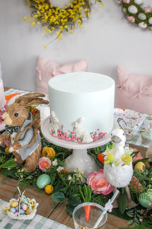 Ready to Ship Bunny Cake