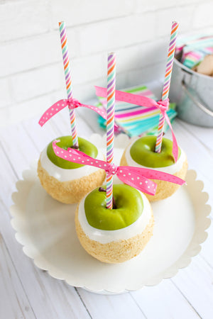 White Chocolate Apples