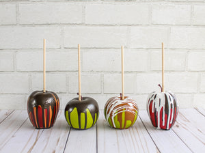 Chocolate Dripped Apples