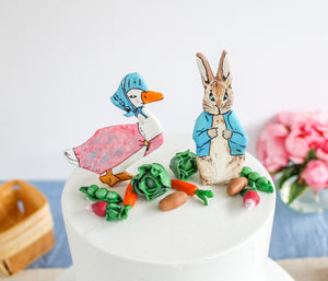 Beatrix Potter Cake Toppers