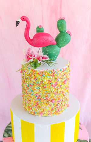 Prickly Pear Cactus Cake Topper