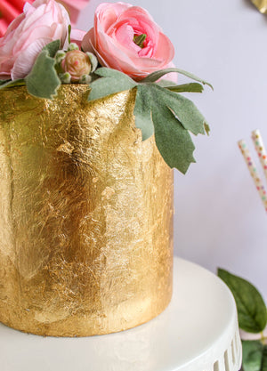 Full Gold Leaf Cake