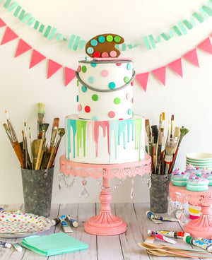 Paint Set Cake Topper