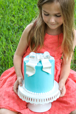 Tiffany Bow Cake