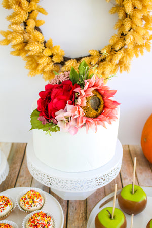 Fall Floral Topper
