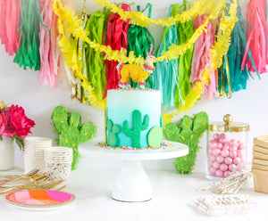 Flat Cactus Cake Toppers