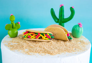 Taco Cake Toppers