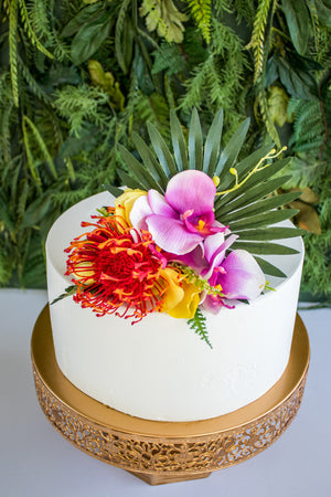 Tropical Floral Topper