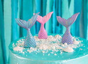 Mermaid Tail Cake Topper