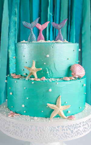 Shell Cake Toppers