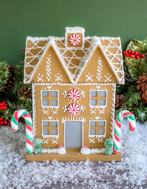 Ready to Ship Large Gingerbread house