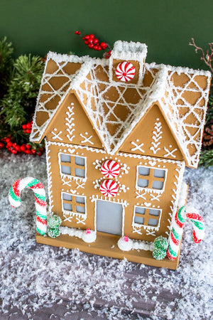 Gingerbread house- Large