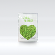 Plantable Seed Paper Heart
