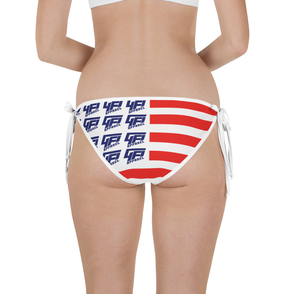 Ladies Reversible Flag Bikini Bottom