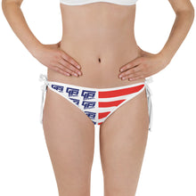 Load image into Gallery viewer, Ladies Flag Bikini Top