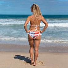 Load image into Gallery viewer, Ladies Reversible Flag Bikini