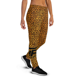 Ladies Cheetah Joggers