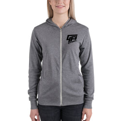 Ladies Run Zip Hoodie