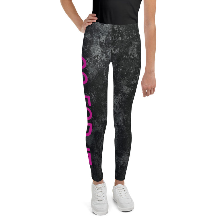 Youth Marble Leggins