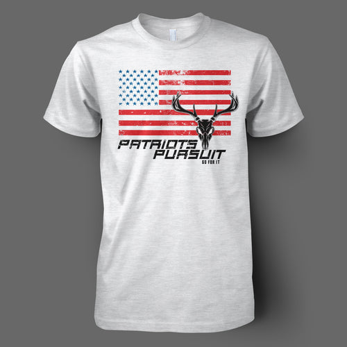 Men's USA Deer Flag Tee