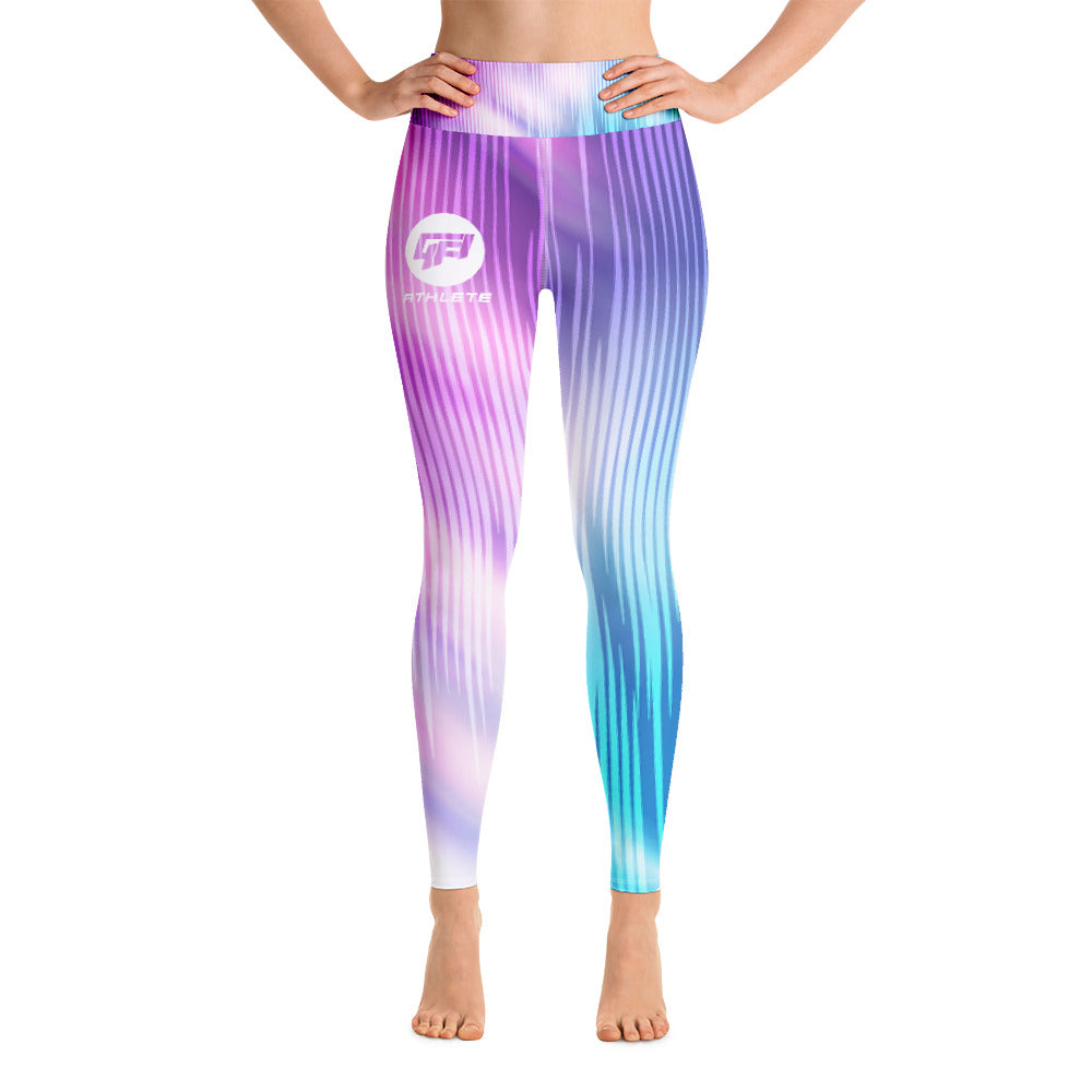 Cotton Candy Yoga Leggings
