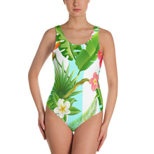 Load image into Gallery viewer, Ladies Tropical One Piece