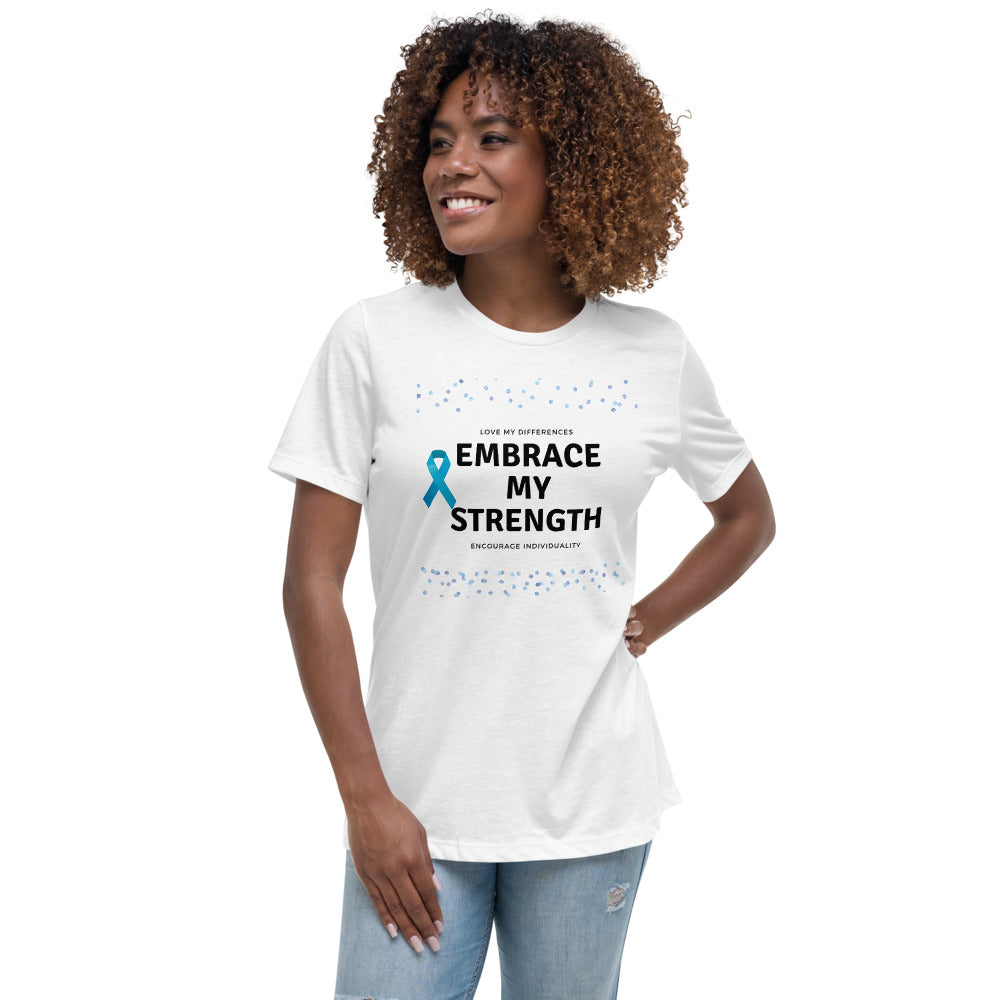 Embrace My Difference Autism Awareness Adult Tee