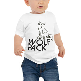 Wolf Pack Line Baby Jersey Short Sleeve Tee